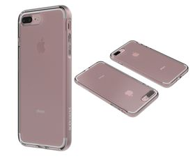 Body Glove Clownfish Aluminium case for iPhone 7 - Clear / Rose Gold